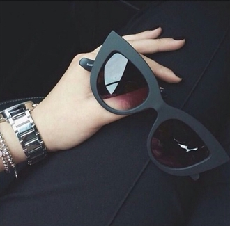sunglasses black sunglasses sunnies cat eye cat sunglasses cat sunnies accessories accessorize accessory style stylish trendy fashion blogger fashionista chill rad pretty on point clothing tumblr cute
