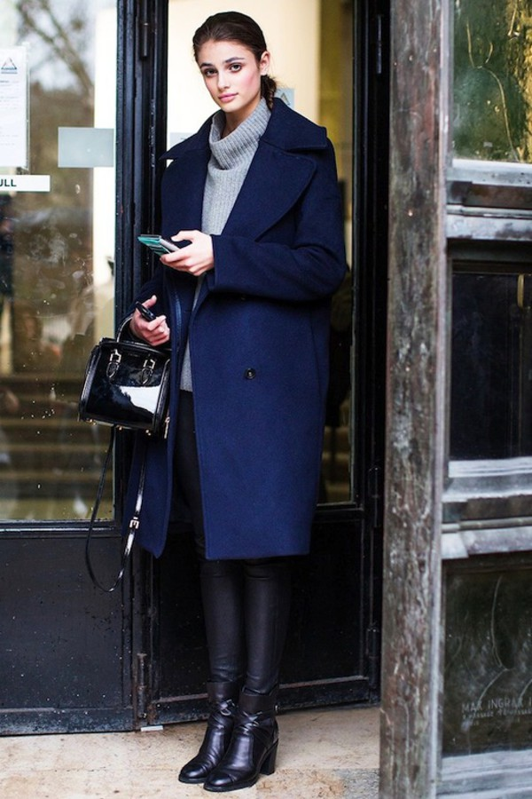 Blogger Coat Sweater Bag Pants Shoes Leggings