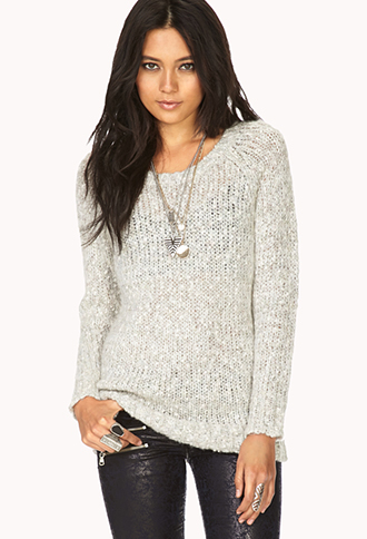 Cozy Open-Knit Sweater | FOREVER21 - 2000128743