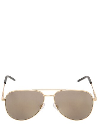 classic sunglasses aviator sunglasses gold