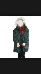 coat,mantel coat,hipster coat,winter coat,green coat,hipster,chic,jacket,girl,women,womens jacket,girls jacket