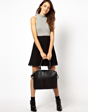 ASOS | ASOS Holdall Bag In Croc at ASOS