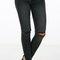 Split knee skinny pants