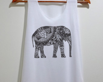 Popular items for elephant tank on Etsy