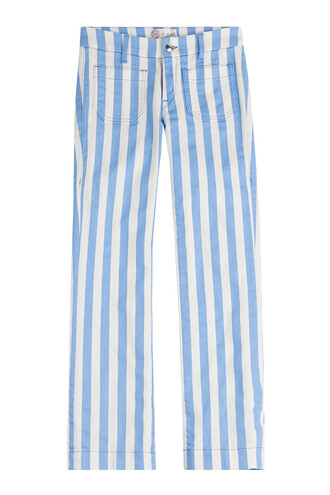 jeans cropped jeans cropped stripes