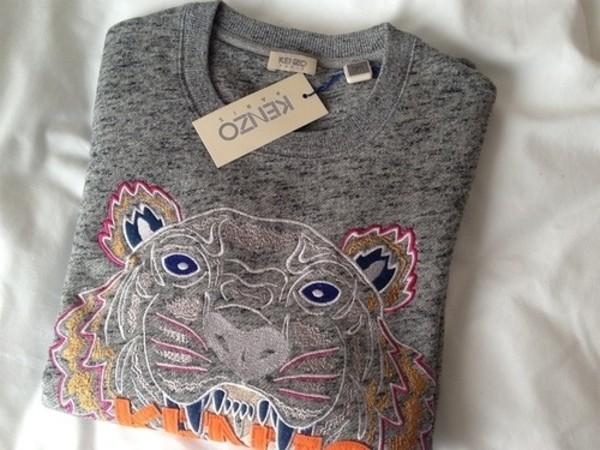 sweater tiger kenzo