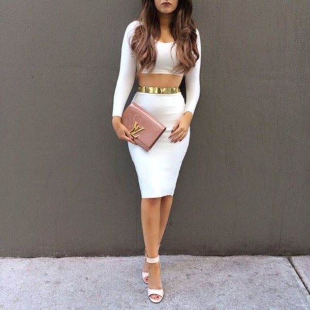 dress classy heels hair