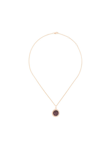 rachel jackson rose gold rose women birthstone necklace gold silver grey metallic jewels