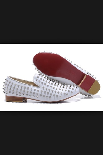 shoes studded shoes loafers smoking slippers