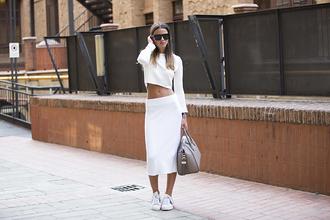 fashion vibe blogger bag skirt shoes sunglasses top