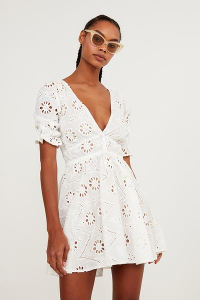 For Love & Lemons X REVOLVE Eyelet Dress
