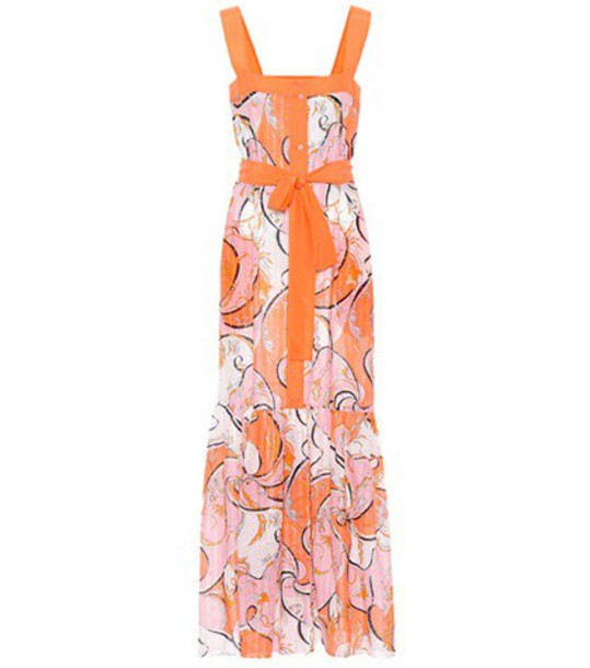 Emilio Pucci Beach dress sleeveless cotton