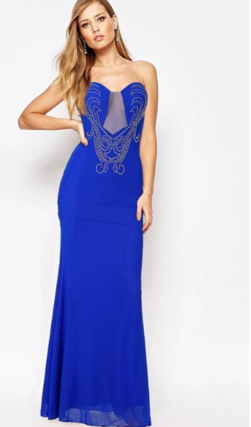 Dress: prom, print dress, long dress, wots-hot-right-now, prom ...