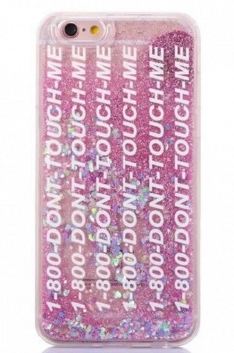 phone cover pink girly glitter iphone cover iphone case
