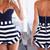 Janine Striped Romper – Dream Closet Couture