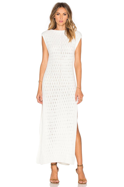 Платье Вязаное Макси Купить