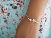 jewels,bracelets,birds,love,brand,branch,stem,leaves,perfecto,floral