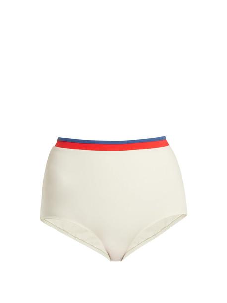 bikini high cream swimwear