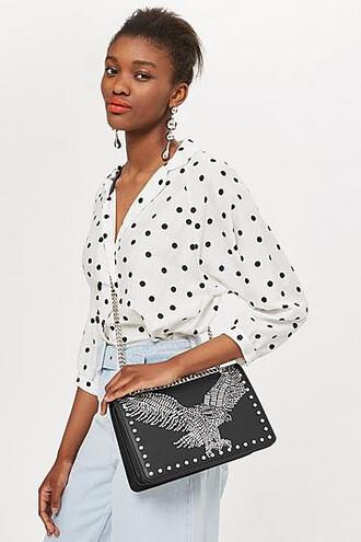 eagle bag shoulder bag black