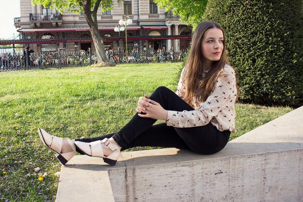 iemmafashion blouse pants shoes jewels sweater