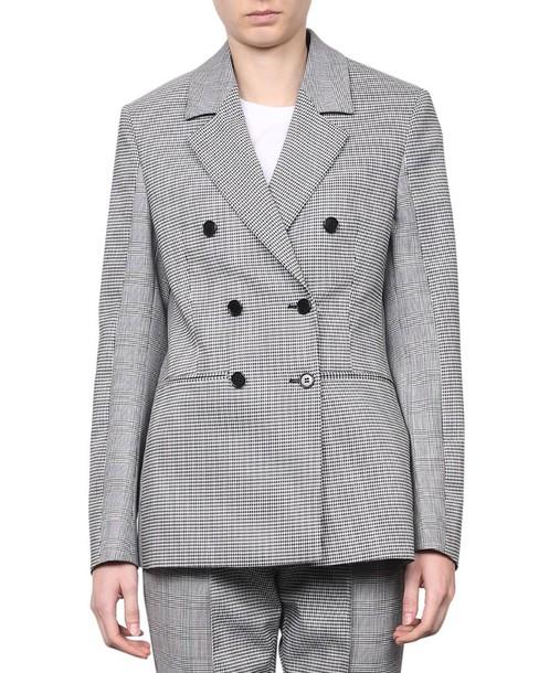 MSGM blazer patchwork wool jacket