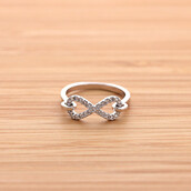 jewels,jewelry,ring,hooked infinity ring,infinity ring,infinite,infinite ring,engagement ring
