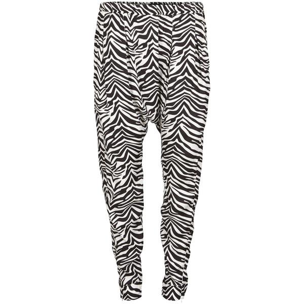 Vila Nea Harem Zebra Pant - Polyvore