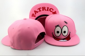 d3d48f093f637d Patrick Nickelodeon Cartoon Snapback Cap pink classic men & women's  designer snapback hats Freeshipping-in Baseball ...
