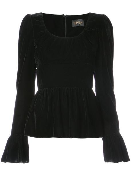 Petersyn blouse women black top