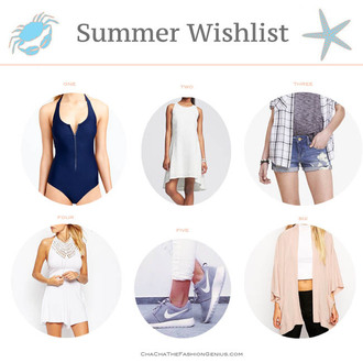 cha cha the fashion genius blogger swimwear shorts