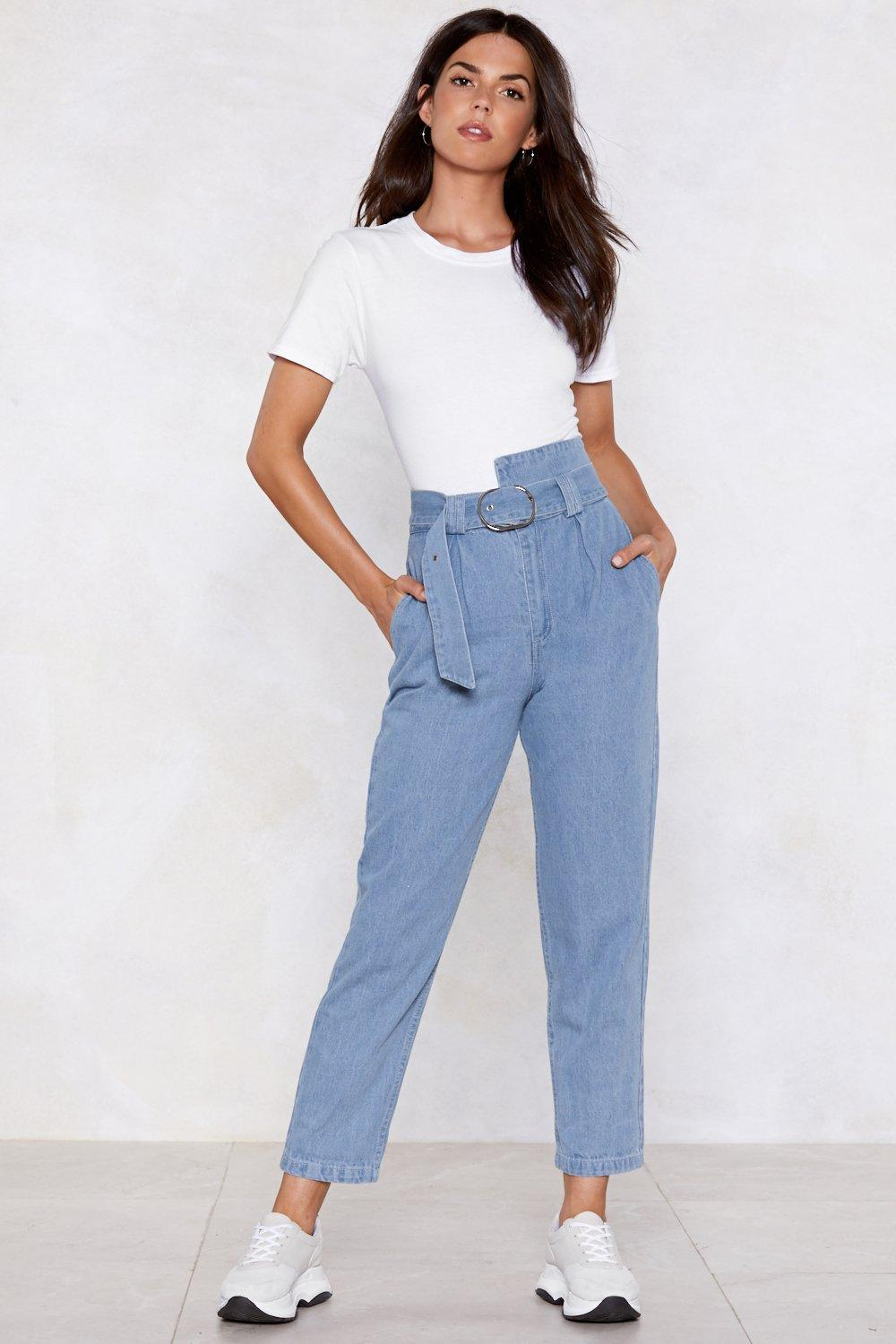 Ring Back Mom Jeans | Shop Clothes at Nasty Gal!
