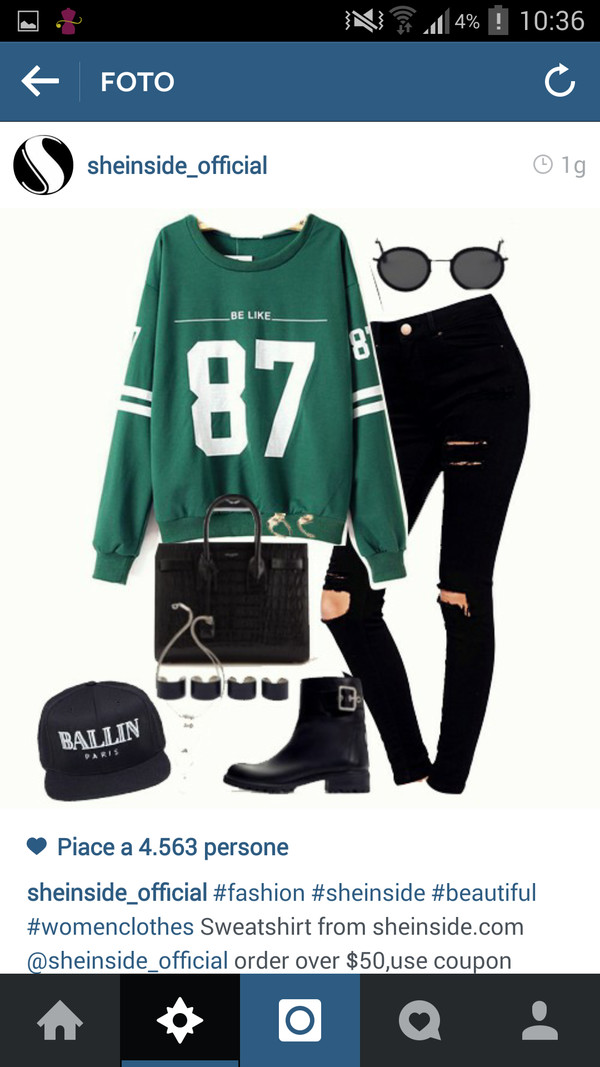 jumpsuit green felpa 87 sweet sweatshirt shoes basketball t-shirt