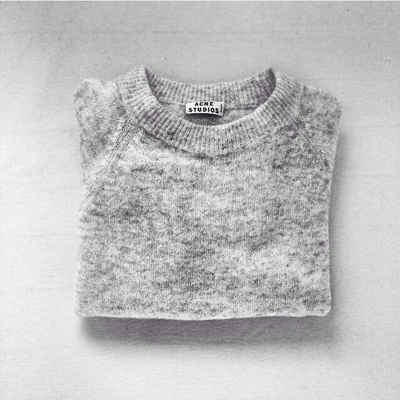 sweater grey sweater white cute sweaters