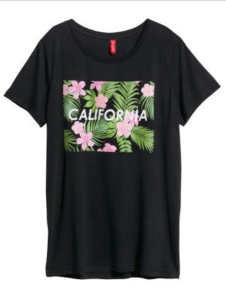 t-shirt california top california