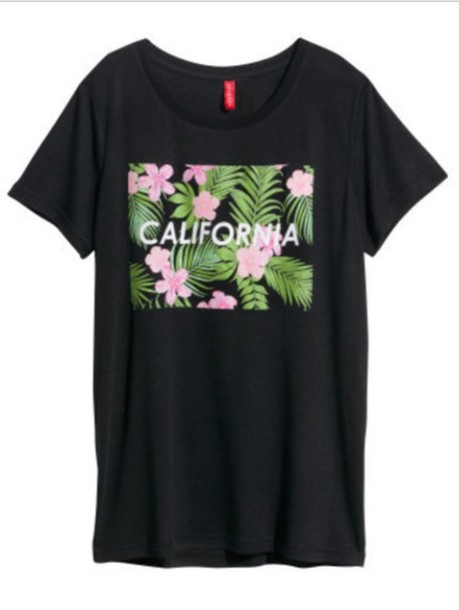 t-shirt california top california