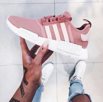 shoes adidas rose pink pink sneakers low top sneakers