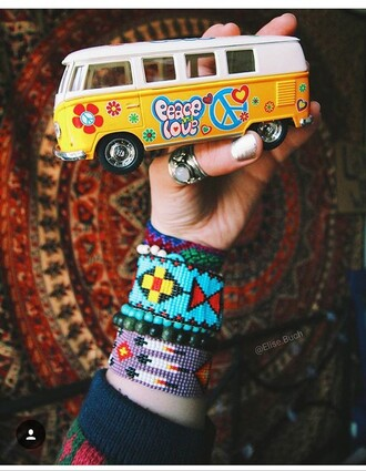 home accessory bus van toy adult toys hippie hippie chic hippy gypsy