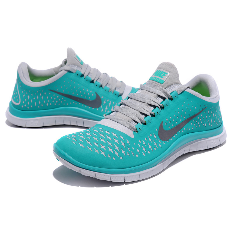 2f1129a6af3f (c617P) Nike Free Run 3.0 V4 Mens Tiffany Blue Reflect Silver Pure ...