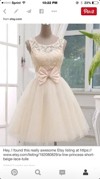 dress ivory short dress helpiwantthis prettydress cutedress ivory dress