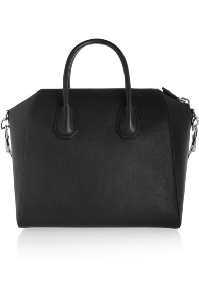 Givenchy | Medium Antigona bag in black goat leather | NET-A-PORTER.COM
