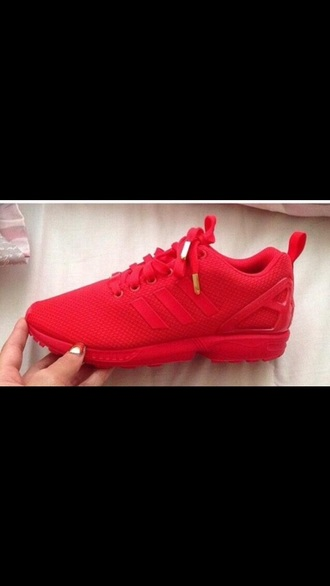 shoes adidas trainers sneakers mono red flux gold tips bright sneakers need help where can i  purchase these hoes ?