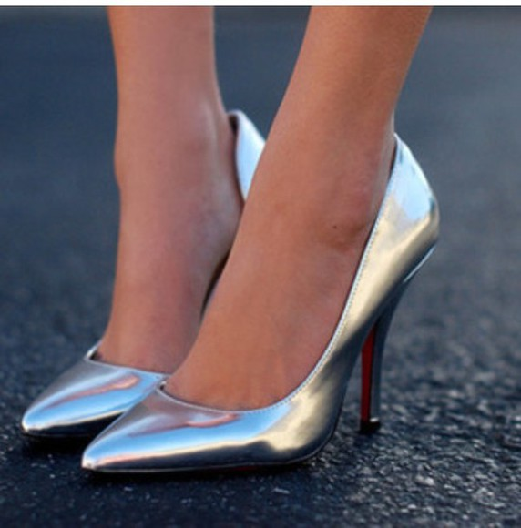 sexy dress shoes sexy sweaters silver high heels silver high heels stilettos heels on gasoline sparkles,high heels,glitter,fancy,silver