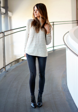 mariannan sweater jeans shoes bag jewels