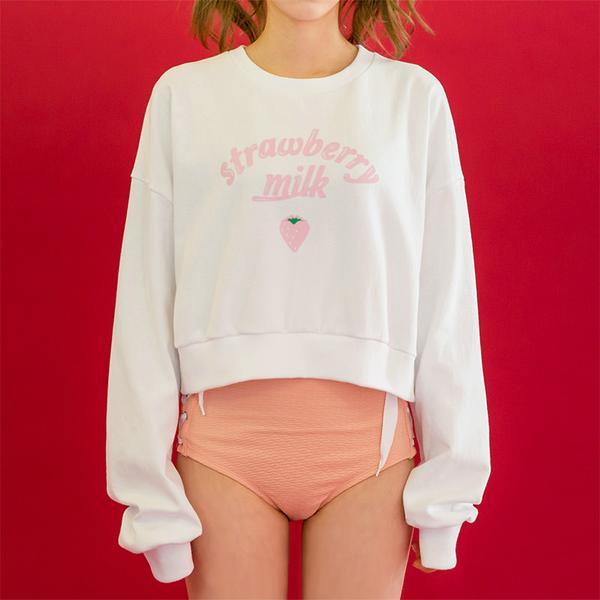 Strawberry Milk Sweatshirt