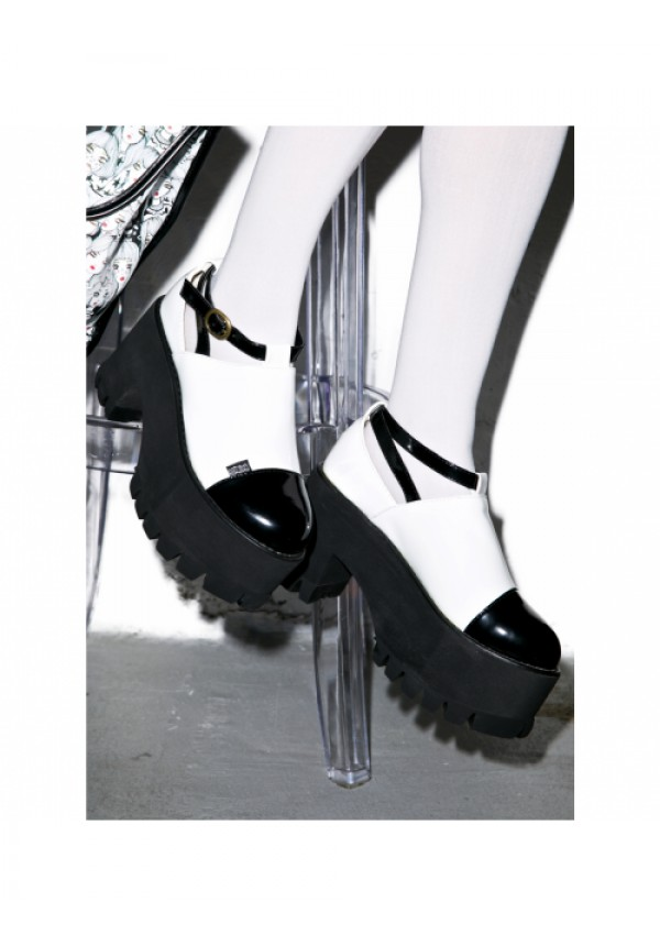0faab167719c2 Hot!MeSS Dolly Platform Boots | Dolls Kill