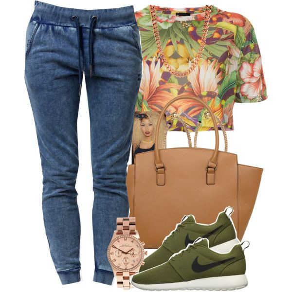 shirt pants bag blouse shoes tropical roshe runs green sneakers
