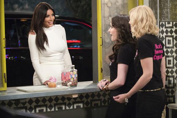 kim kardashian skirt top crop tops white two broke girls