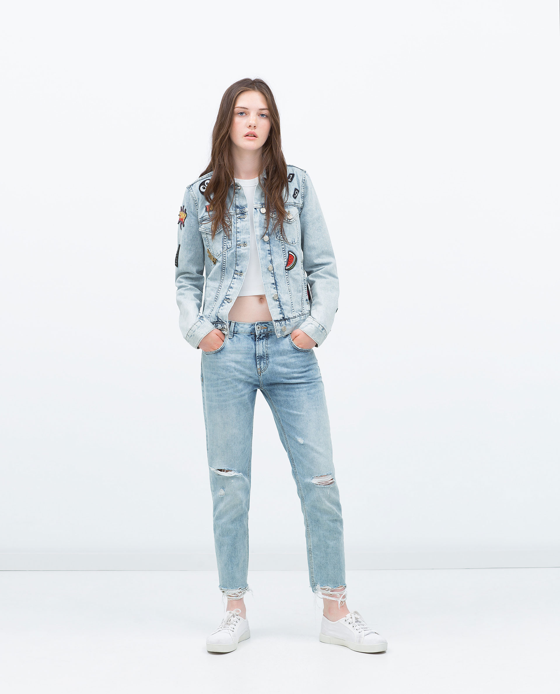 Zara sale denim jacket