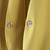 Yellow V Neck Pockets Long Blazer - Sheinside.com