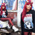 Diy Flower Crown, Riot Society Paws Jaws Sweater, Victoria's Secret Metallic Red Siren Pant, Jeffrey Campbell Heel Less Silver Shoe - Clawing Paws - Melania Plasko | LOOKBOOK